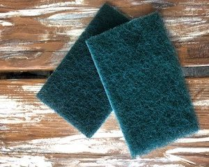 cleaning scour pad