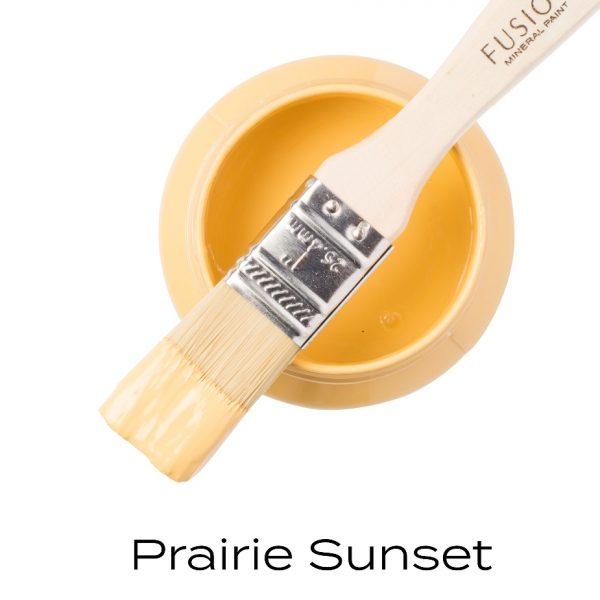 fusion prairie sunset