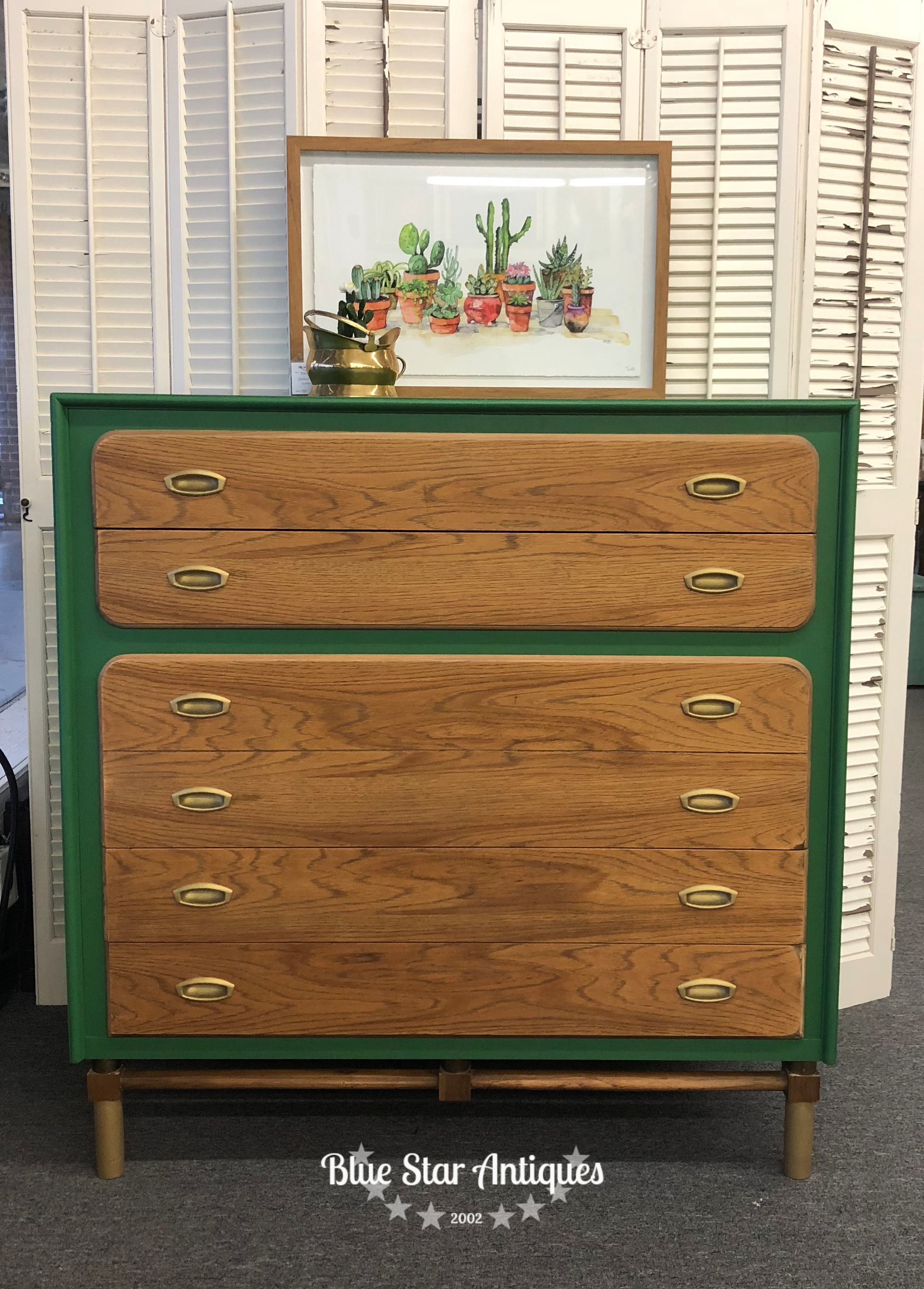 MCM chest Making a Mid-Century Modern Happy