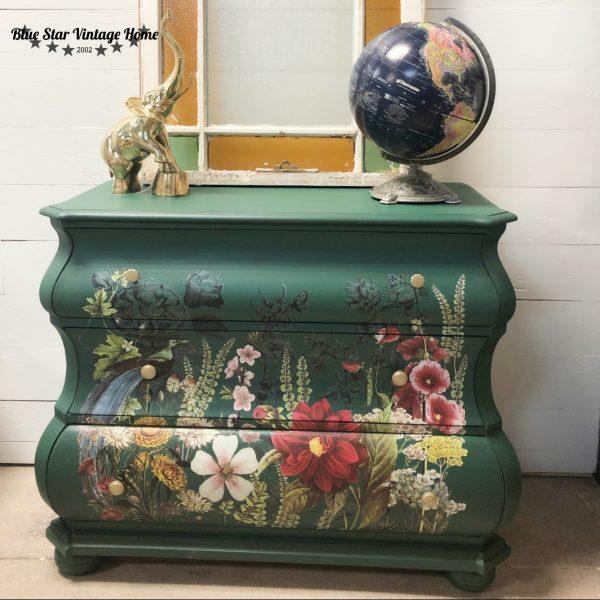 blue star pressed fern2 Midnight Garden - New Format