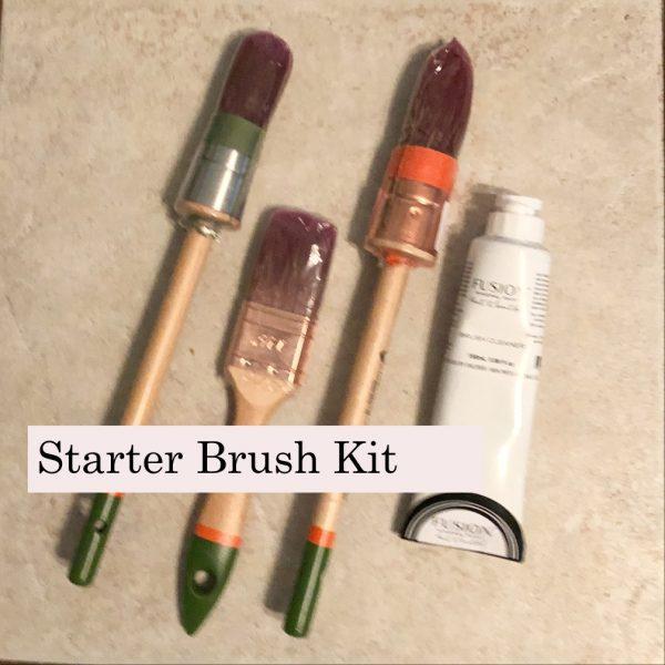 starter paint brushes
