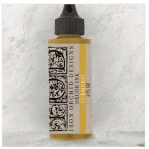 turmeric decor ink