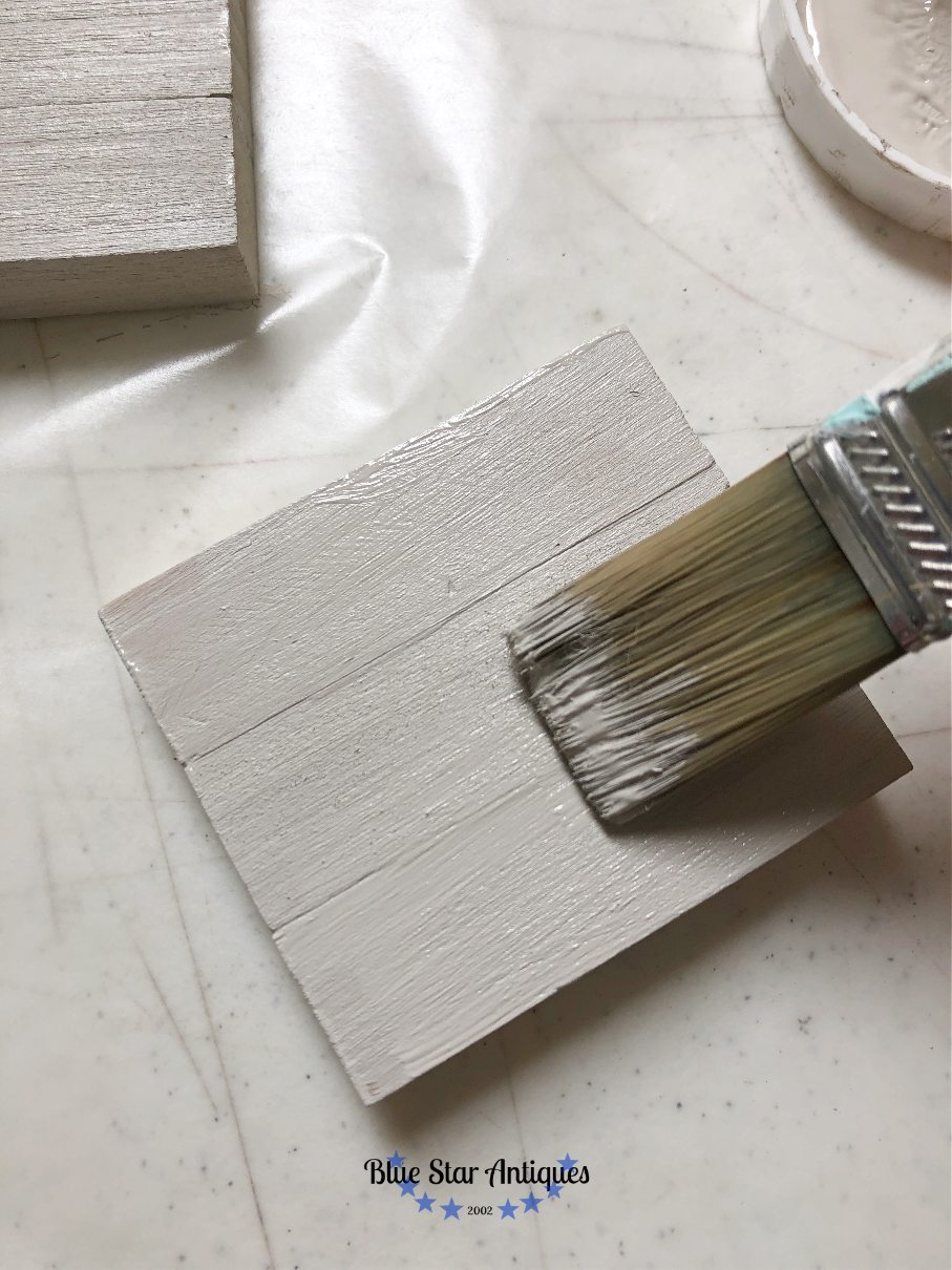 blue star antiques fusion mineral paint goddess ashwagandha IOD for the Win with Cute Fall Decor