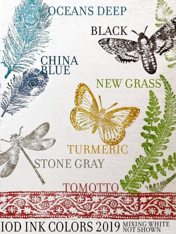 blue star antiques iron orchid designs new decor inks 1 Tomotto Decor Ink
