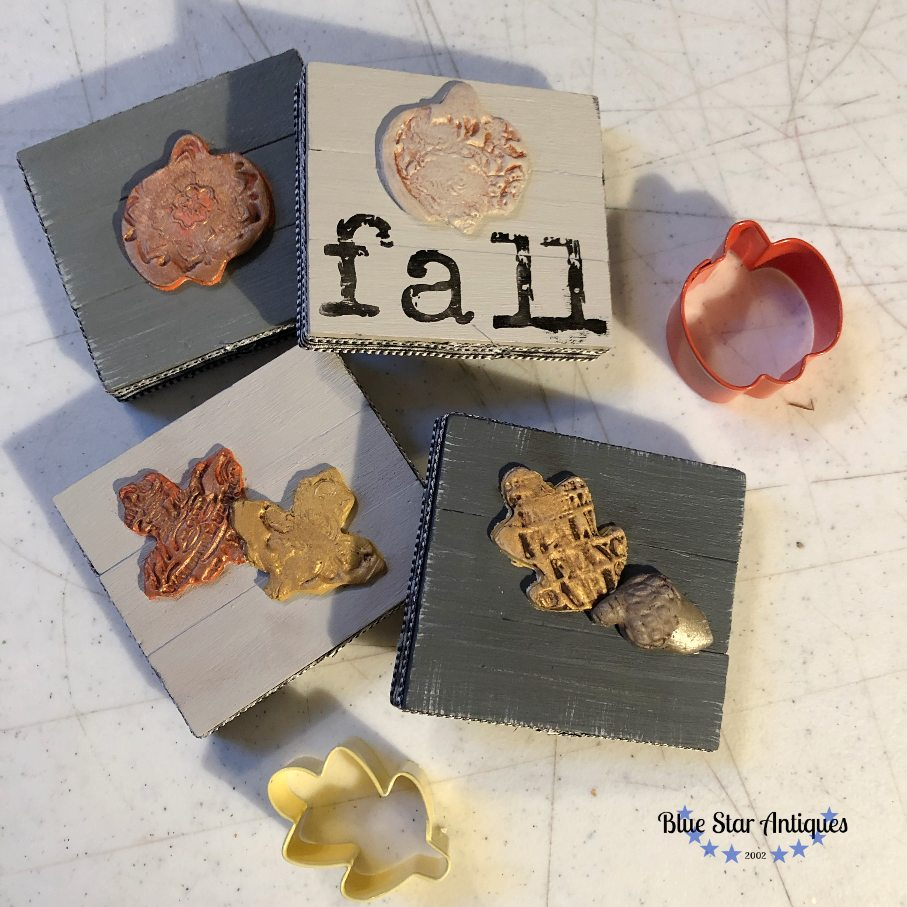 blue stat antiques fall pumpkins IOD fusion mineral paint IOD for the Win with Cute Fall Decor
