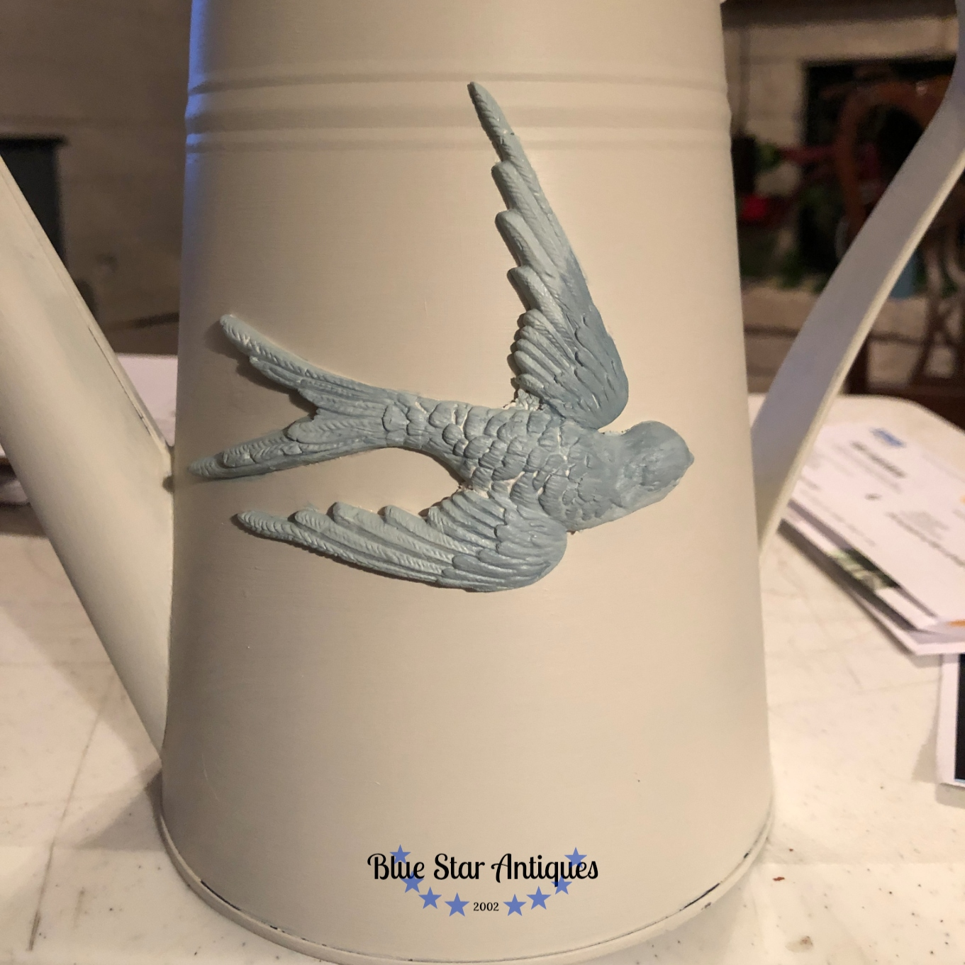 BLUE STAR ANTIQUES FRESH BLUEBIRD Take a Look at the NEW Birdsong Mould