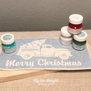 holiday sign stencil kit blue star antiques Shop DIY Kits