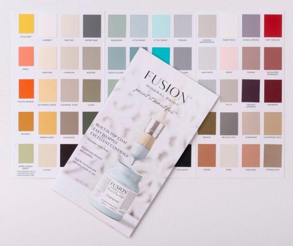 fusion true color card