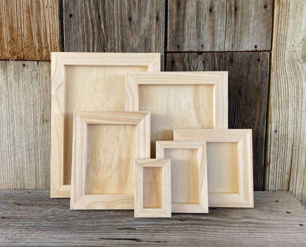 wood gallery blank panels