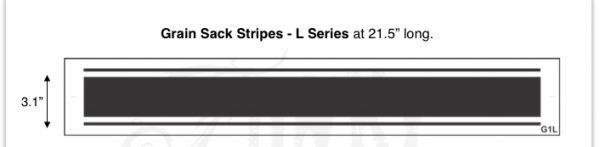 Grain Sack Stripes L Series at 21.5 long Funky Junk s Old Sign Stencils.53 PM large stripe Grain Sack Stripe Stencil