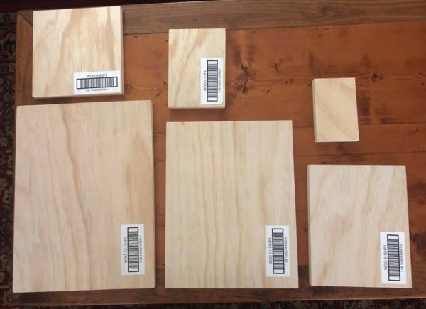 blue star panel fronts 1 Wood Gallery Blank Panels