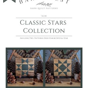 Classic Stars Barn Quilt Pattern