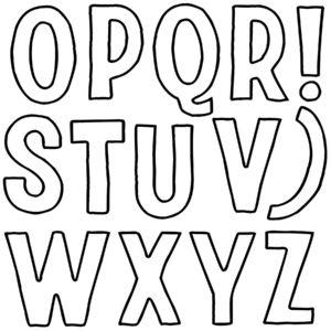 IOD DS Retro B 300x300 1 Retro Letter Stamp