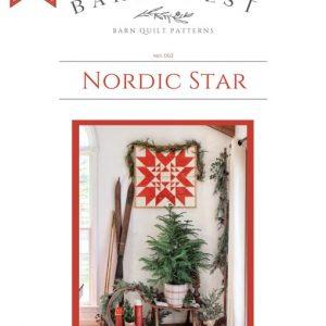 Nordic Star Barn Quilt Pattern
