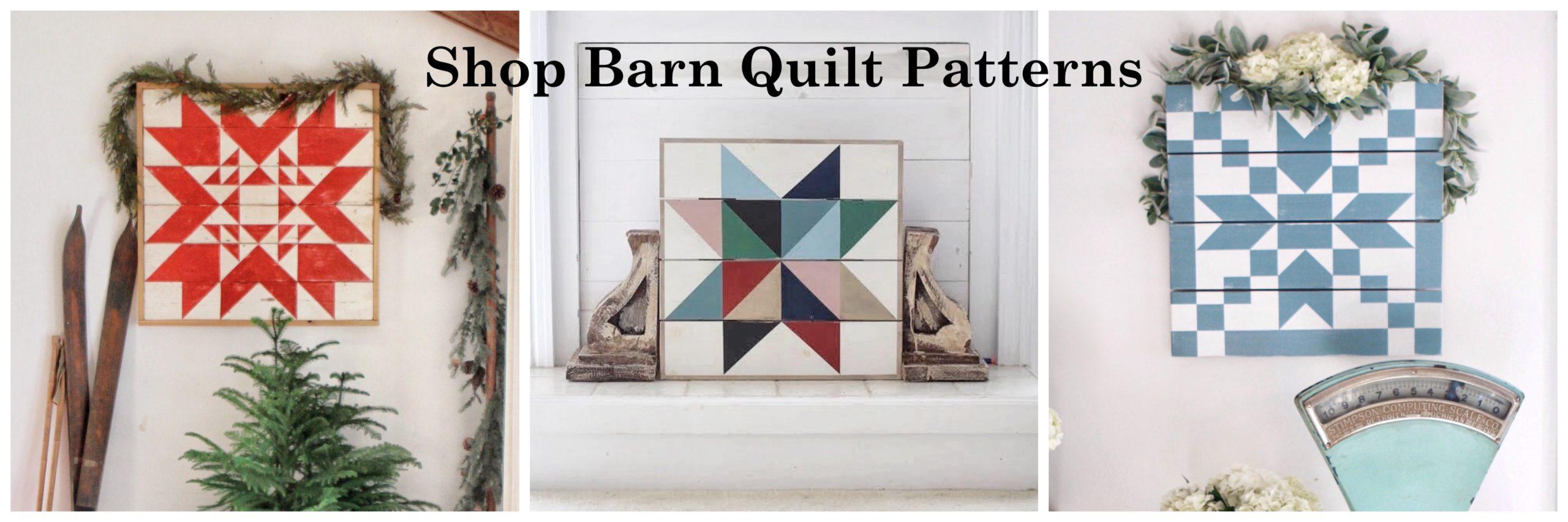 shop barn quilt patterns