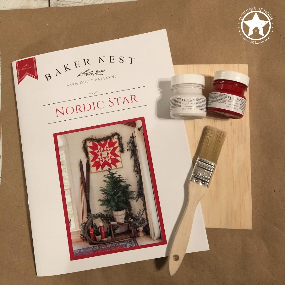 blue star nordic kit Four Easy Steps to Paint a Barn Quilt