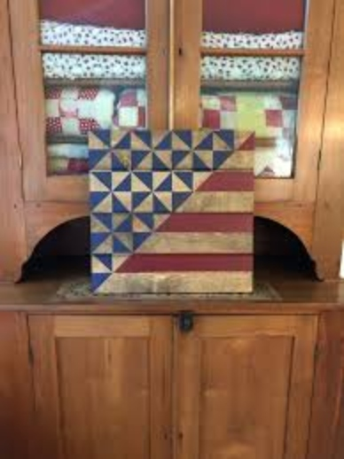download Lady Liberty Barn Quilt Pattern