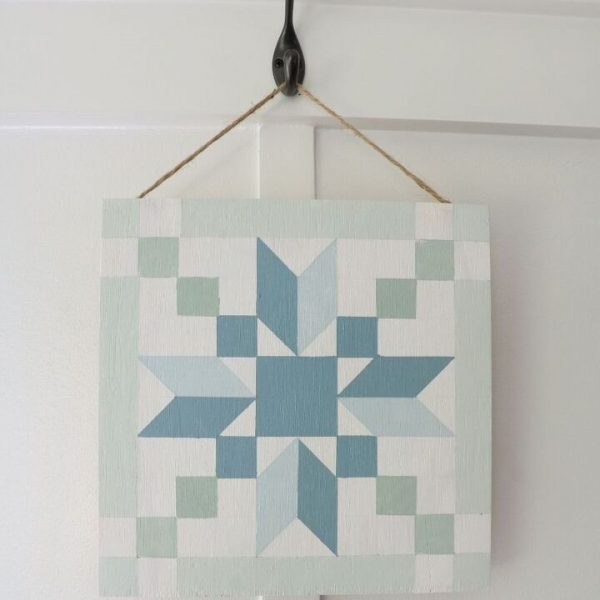 how to make a faux vintage barn quilt Wood Gallery Blank Panels