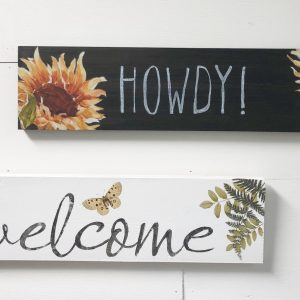 welcome sign kit