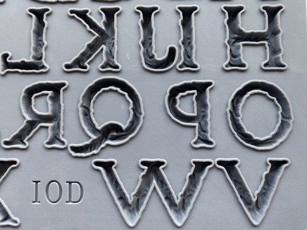 victoria 2 scaled 1 Victoria Alphabet Mould