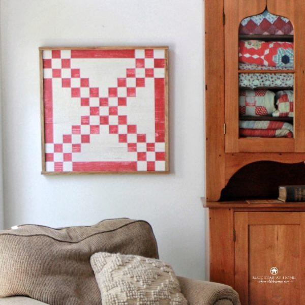 Chesapeake chain barn quilt pattern