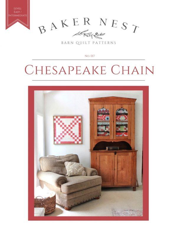 Chesapeake Chain Barn Quilt