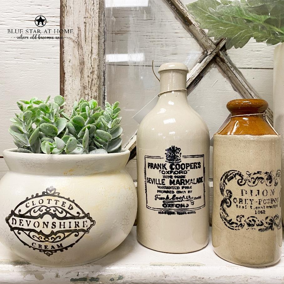 crock pots bottles How to DIY Vintage Crock Pots