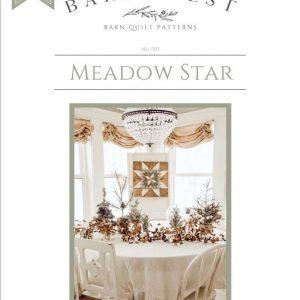 Meadow Star Barn Quilt