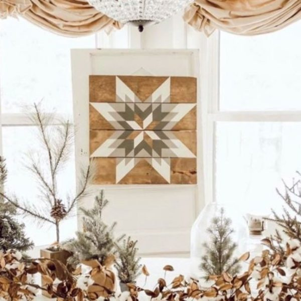 download 8 Meadow Star Barn Quilt