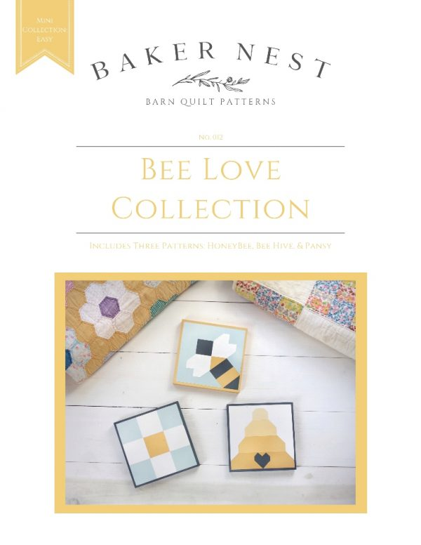 Bee Love Barn Quilt