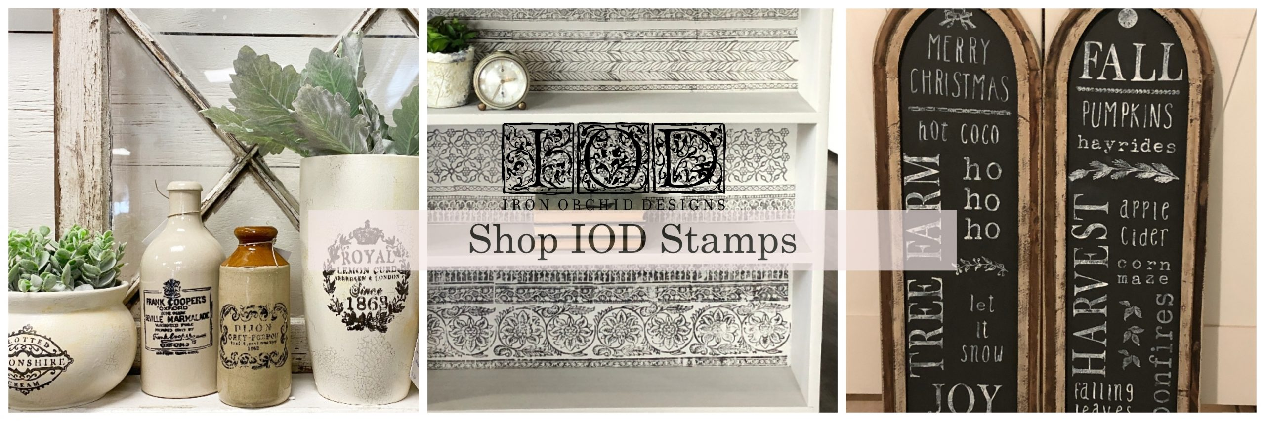 Blue Star at Home Shop IOD Stamps