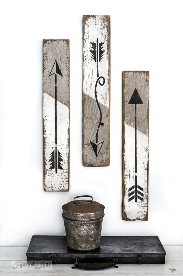 2019 stencil arrow cup hooks Arrow Stencil