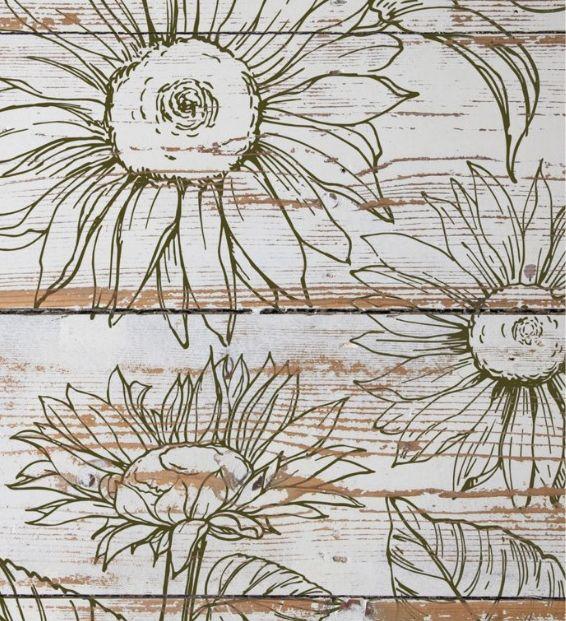 sunflowers stamp sample Sunflowers Stamp