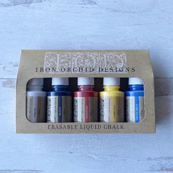 IOD erasable liquid chalk