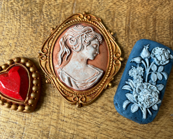 cameos painted Cameos IOD Mould *NEW*